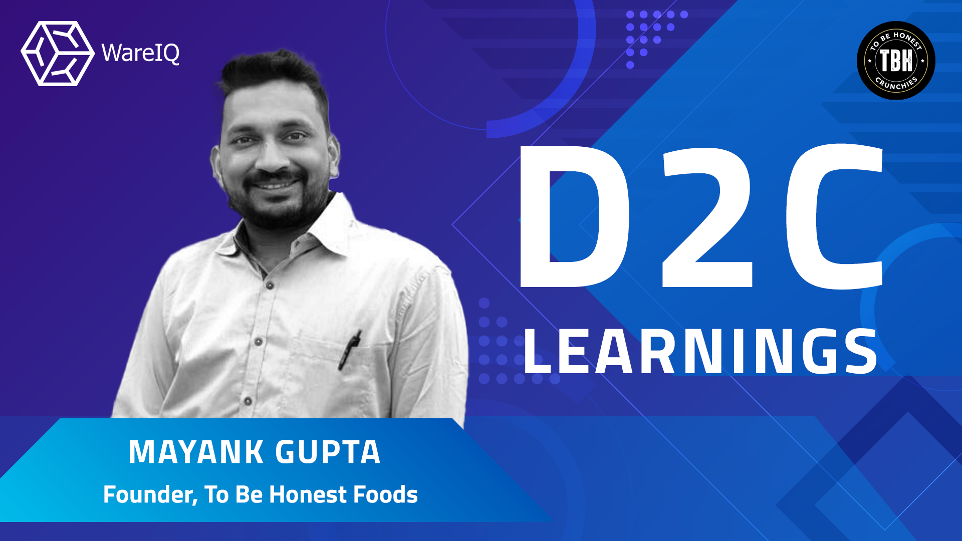 WareIQ D2C Scale up Series | Learnings with Mayank Gupta